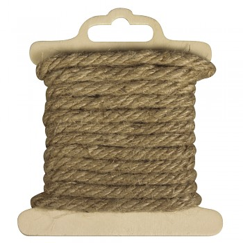 Cord of jute / 5mm / 2m