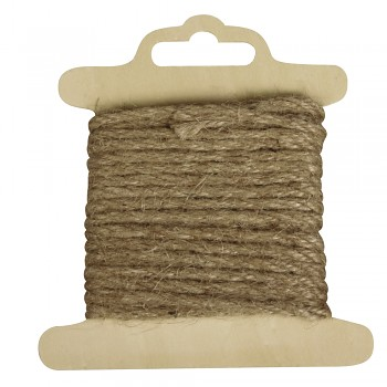 Cord of jute / 2,5mm / 5m