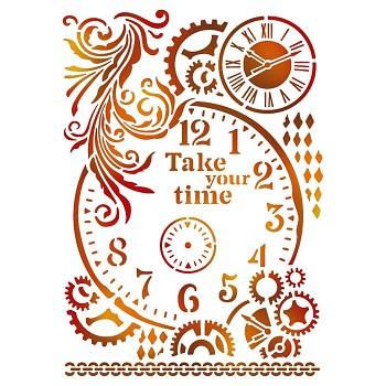 Stencil / A4 / Take your time