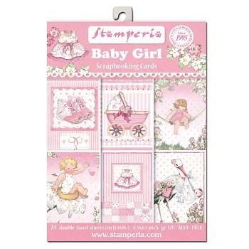 Baby Girl / 11x16cm / sada kartičiek