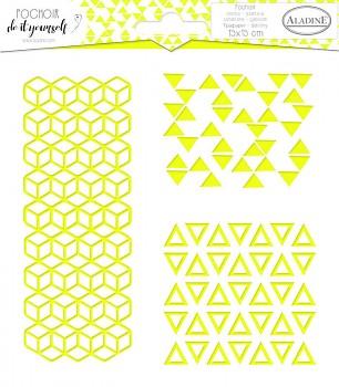 Stencil 15x15cm / Geometry trio