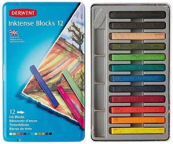 Derwent Intense Blocks / 12szt
