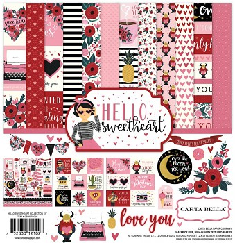 Hello Sweetheart 12x12 / Collection Kit