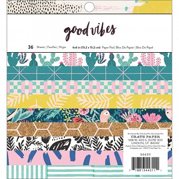 Good Vibes 6x6 Paper Pack / 36pcs