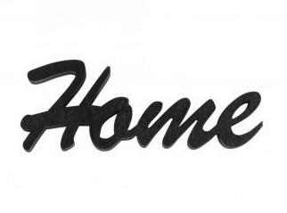 Drevený nápis Home / 10x4,5x1cm