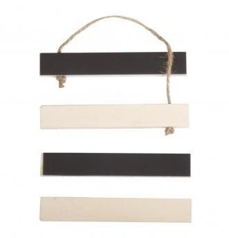 Drevený magnetický držiak na zavesenie / 10.5x1.5x0.75cm