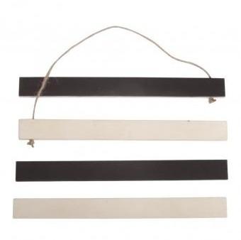 Wooden magnet holder to hang / 21x2x0,75cm