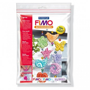 "Fimo clay molds ""Spring"""