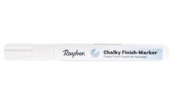 Chalky Finish marker 2-4mm / white