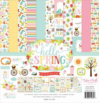 Hello Spring 12x12 / Collection Kit