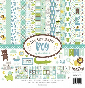 Sweet Baby Boy 12x12 / Collection Kit