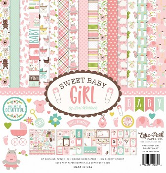 Sweet Baby Girl 12x12 / Collection Kit