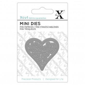 Mini Die - Blessed By Your Love / Vyrezávacia šablóna