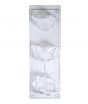Casting mould: bird, butterfly, flower, Motif size approx.6-8cm