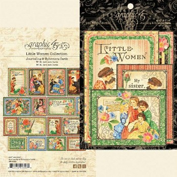 Little Women / 4x6 Ephemera Cards