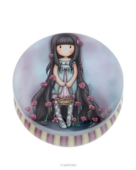Gorjuss Trinket Tin - Rosebud