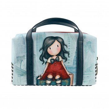 Gorjuss Cityscape My Story Suitcase Pencil Case / 22.1 x 16.3 x 6.9 cm