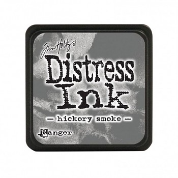 Stempelkissen Distress Mini Ink Pad / hickory smoke