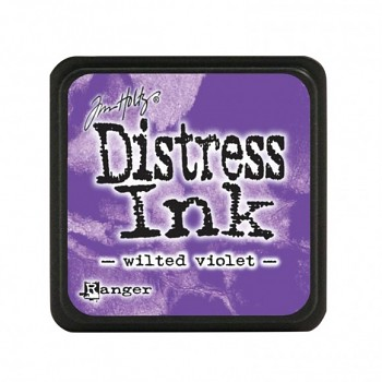 Stempelkissen Distress Mini Ink Pad / wilted violet