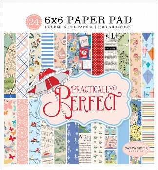 Practically Perfect / 6x6 / Paper Pad