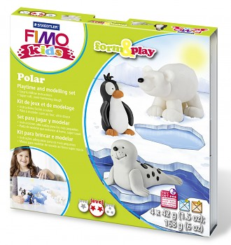 Sada Fimo Kids Form & Play / Polar