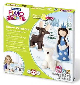 Sada Fimo Kids Form & Play / Snow Princess