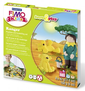 Sada Fimo Kids Form & Play / Ranger