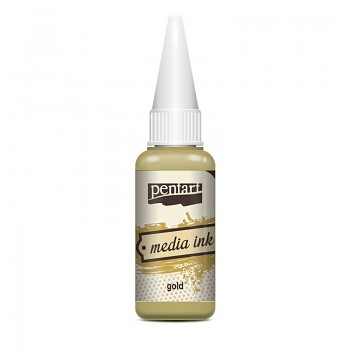 Media Ink 20ml / gold