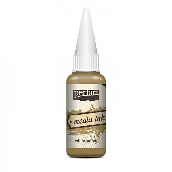 Media Ink 20ml / white coffee