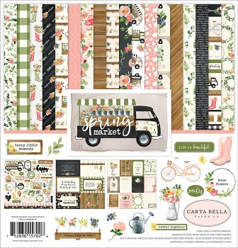 Spring Market 12x12 / Collection Kit