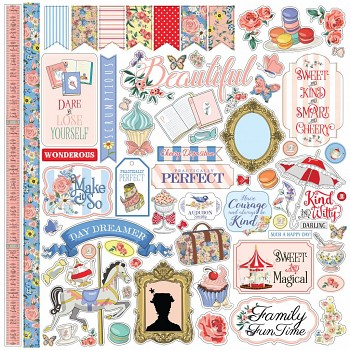 Practically Perfect / 12x12 / Stickers