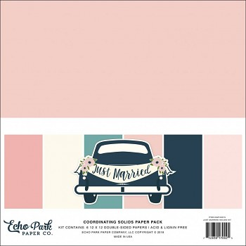 Just Married 12x12 / Solids Kit