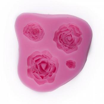 Formy silikonowe / Róża cca 7x6,5x1,5 cm