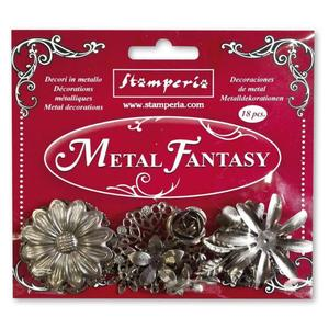Set 18 pcs Metal Fantasy