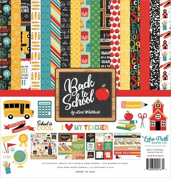 Back to School 12x12 / Collection Kit