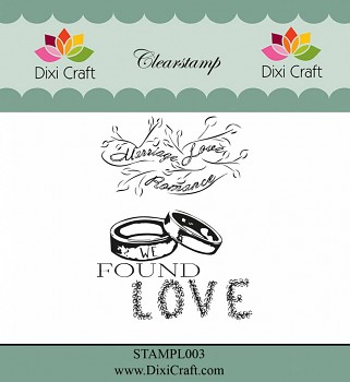 Wedding 1 / Clear Stamps