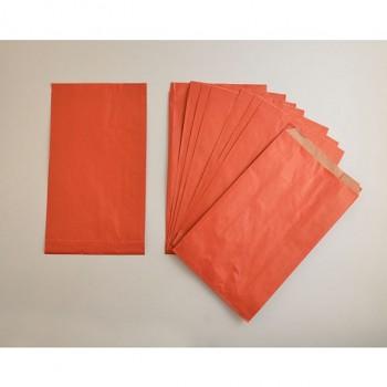 Papierové vrecko 1ks / červené / 16x28cm