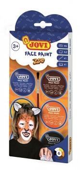 Kolory na twarzy ZOO / 6x8ml