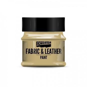 Farba do tkanin i skóry 50 ml / light brown
