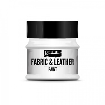 Fabric & Leather Paint 50ml / white