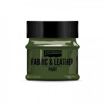 Farba na textil a kožu 50ml / jedľovo zelená