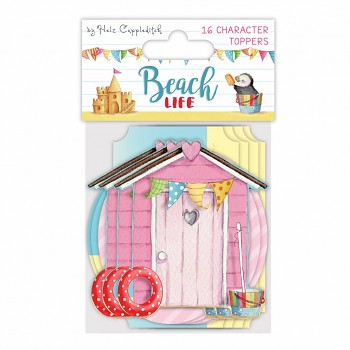 Beach Life Character Toppers / 16pcs