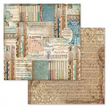 Scrapbookový papier / 12x12 / Music Rigoletto