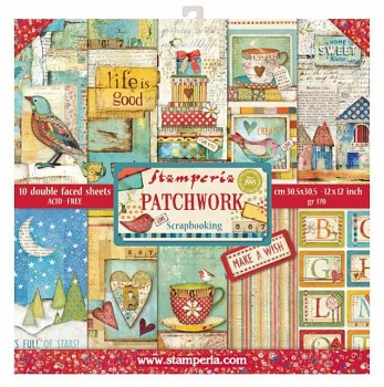 "Patchwork / 12x12"" / Paper Pack"