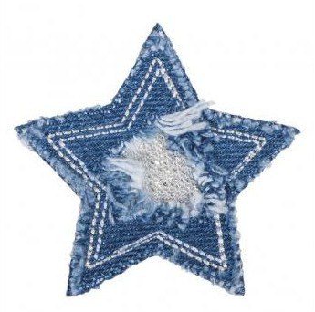 Patch Jeansstar 6cm for ironing