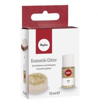 Cosmetic glitter / 10ml / gold