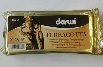 Air drying modelling material Terracotta / 500g