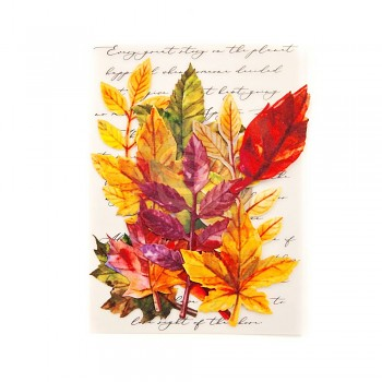 Leaf Embellishments Fall Solstice / 2,8 - 5 cm / 12ks