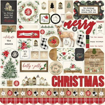 Christmas / 12x12 / Stickers