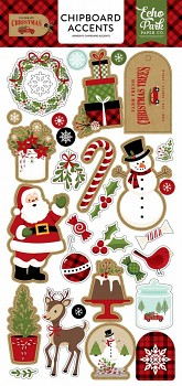 Celebrate Christmas / Chipboard Accents / 6x12""